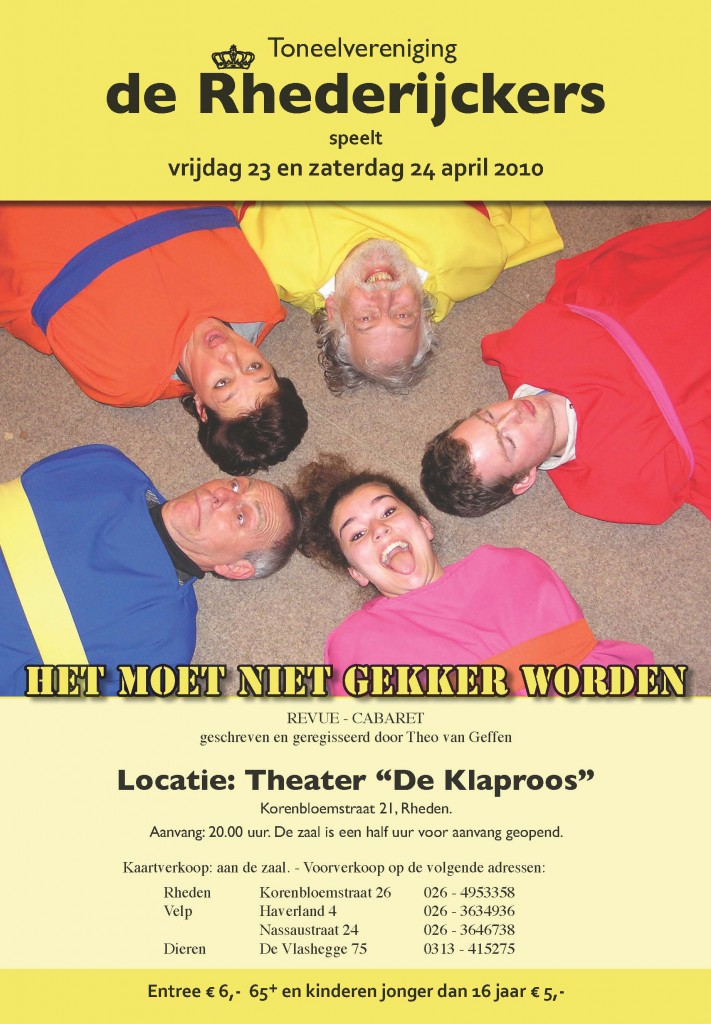 2010_1 PosterA3 HetMoetNietGekkerWorden